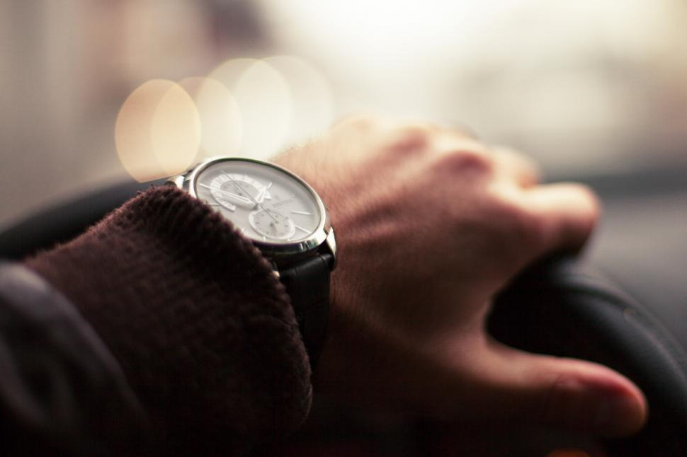 Download Free Stock HD Photo of Close up of a watch Online