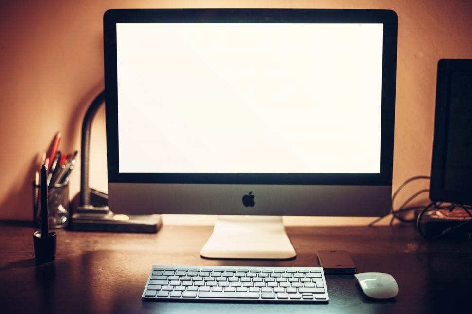 Download Free Stock Photo of Desktop computer