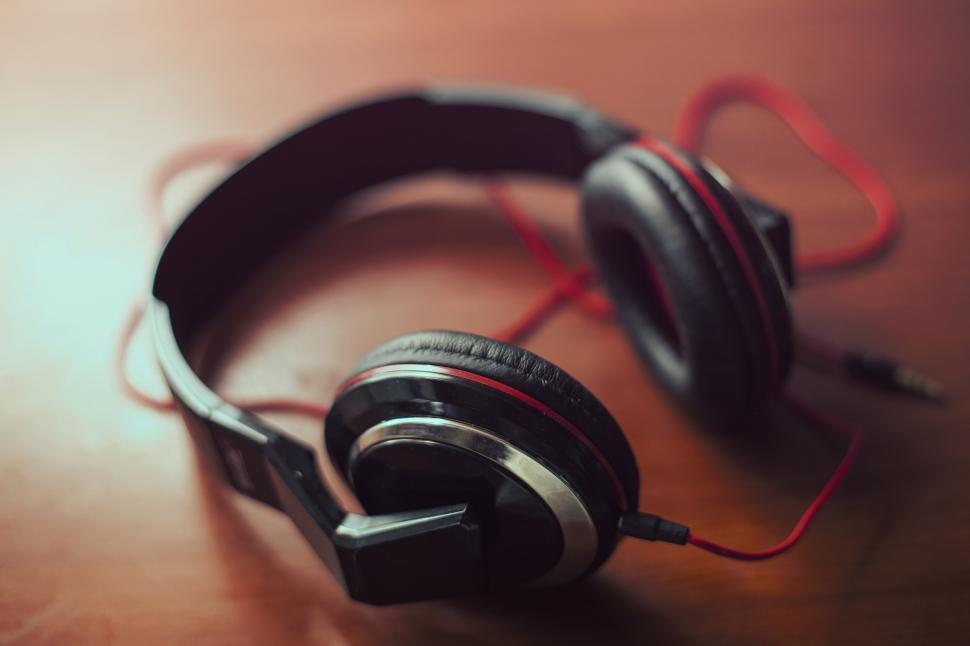 Download Free Stock HD Photo of Wired headphones Online