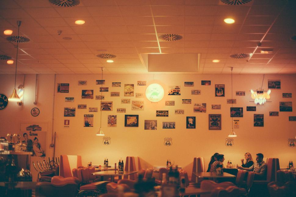 Download Free Stock Photo of Restaurant interior