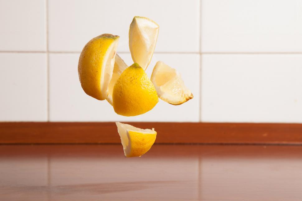 Download Free Stock HD Photo of Lemon wedges Online