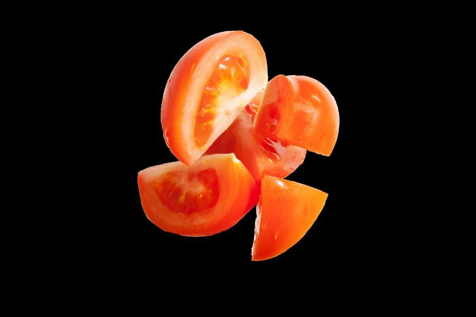 Download Free Stock HD Photo of Tomato wedges Online