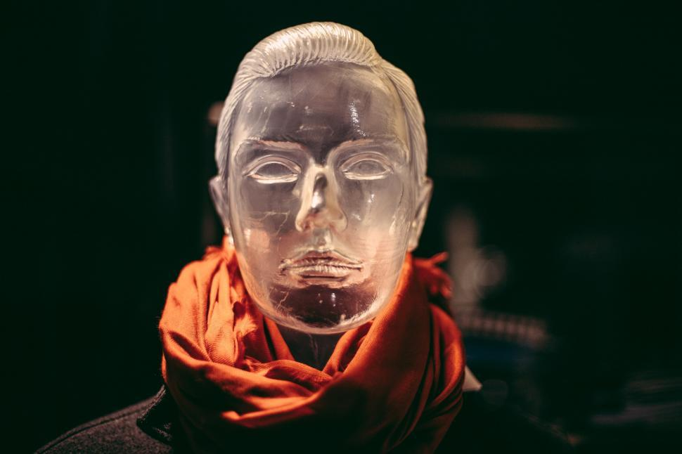 Download Free Stock Photo of A glass mannequin of a man