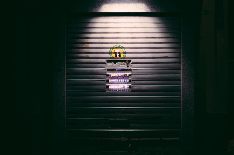 Download Free Stock HD Photo of Roller shutter door Online