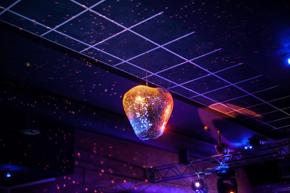 Download Free Stock HD Photo of Disco mirror ball  Online
