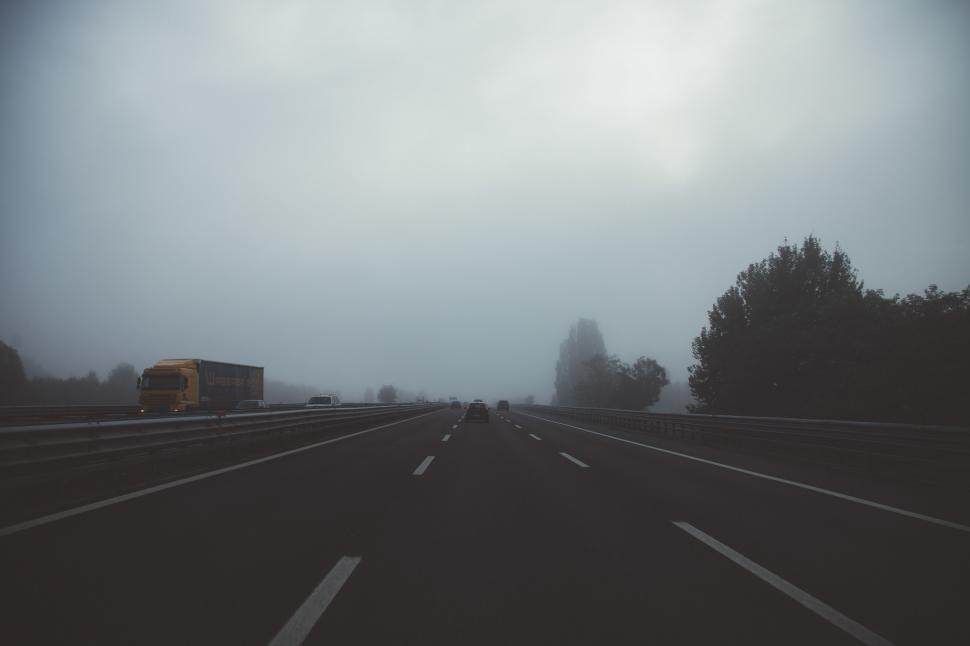 Download Free Stock Photo of Vehicles on highway