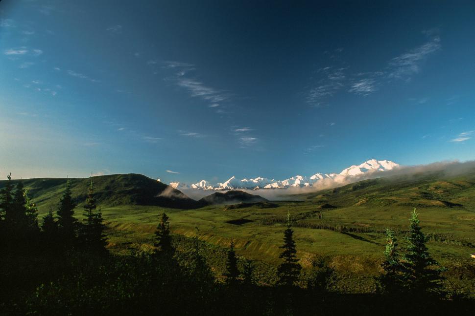 Download Free Stock Photo of Mount McKinley - Denali
