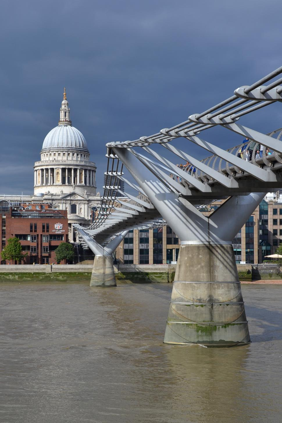 Download Free Stock HD Photo of The Millennium bridge Online