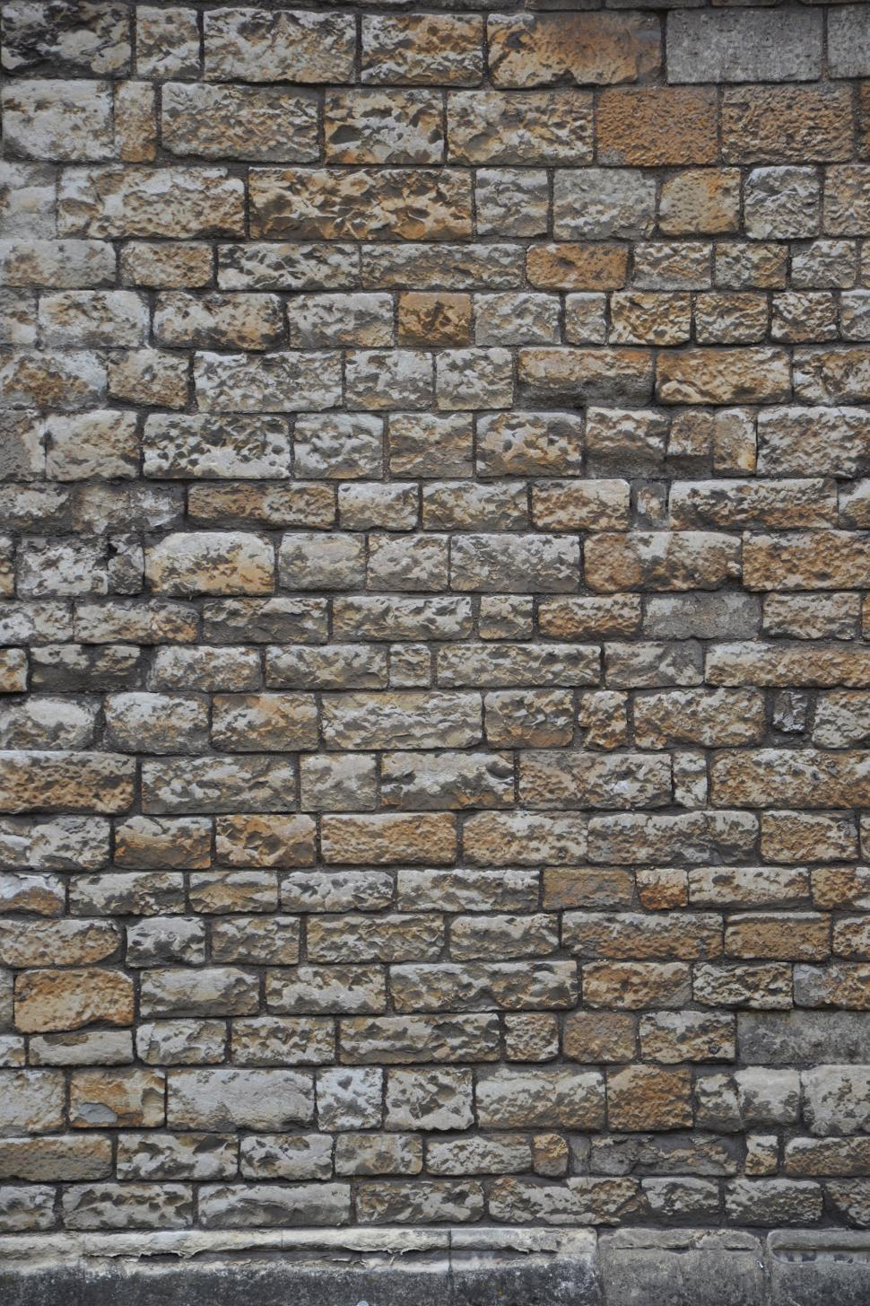 Download Free Stock Photo of Brick wall texture