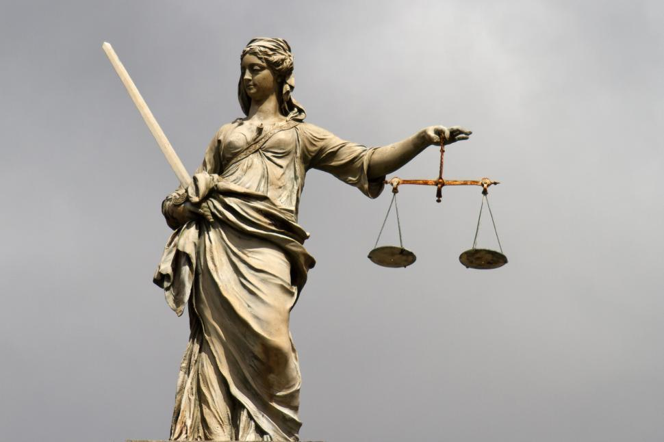 Download Free Stock Photo of Lady Justice at Dublin Castle
