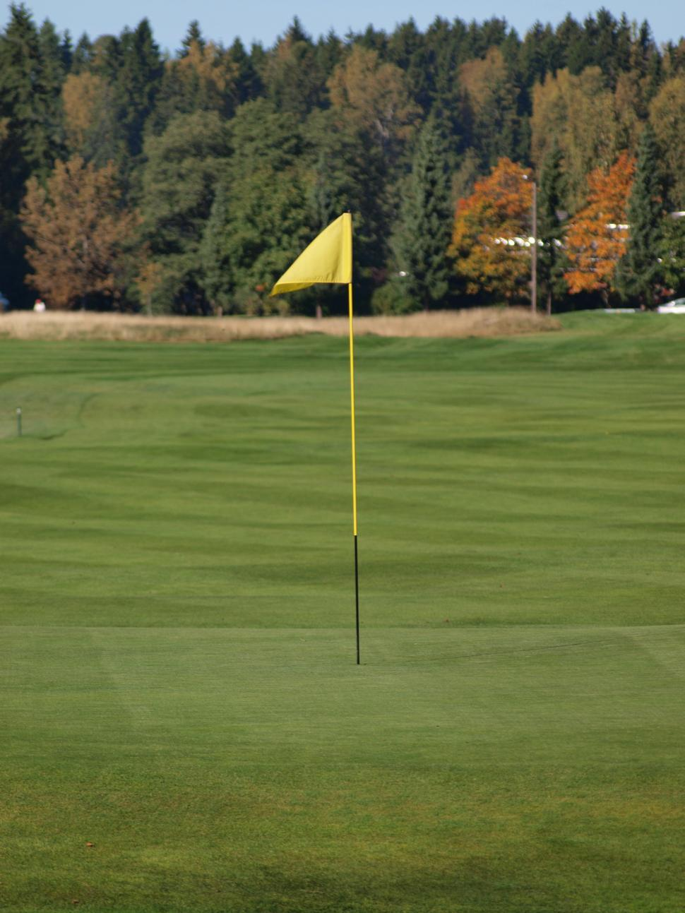 Download Free Stock HD Photo of Golf flag  Online