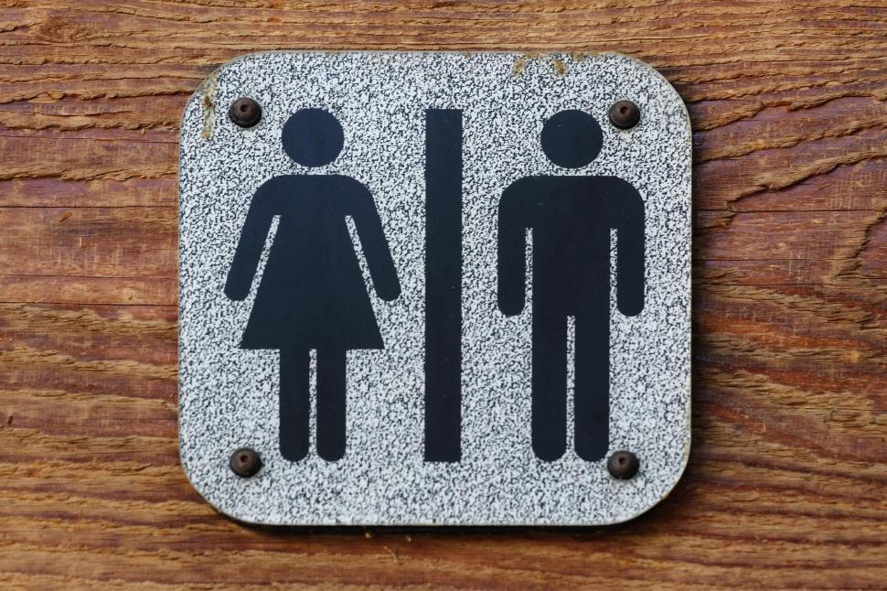 Download Free Stock HD Photo of Restroom symbol Online