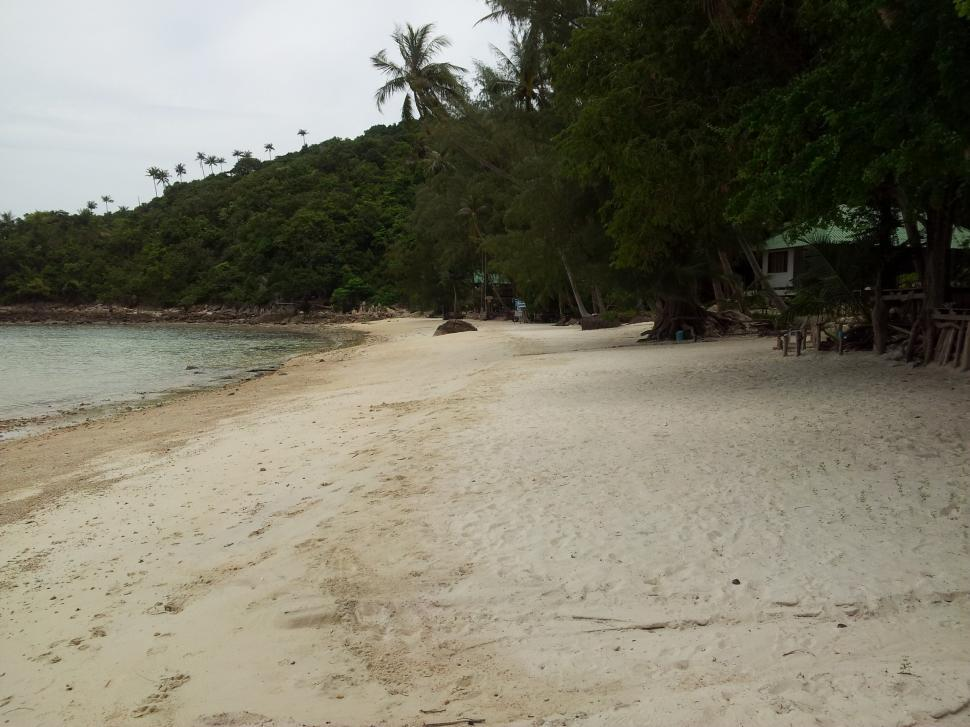 Download Free Stock HD Photo of Beach in Thailand with huts Online
