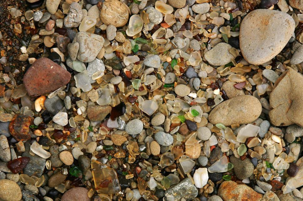 Download Free Stock HD Photo of Seaglass at Glass Beach Online
