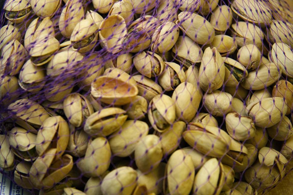 Download Free Stock HD Photo of Bag of Pistachios Online