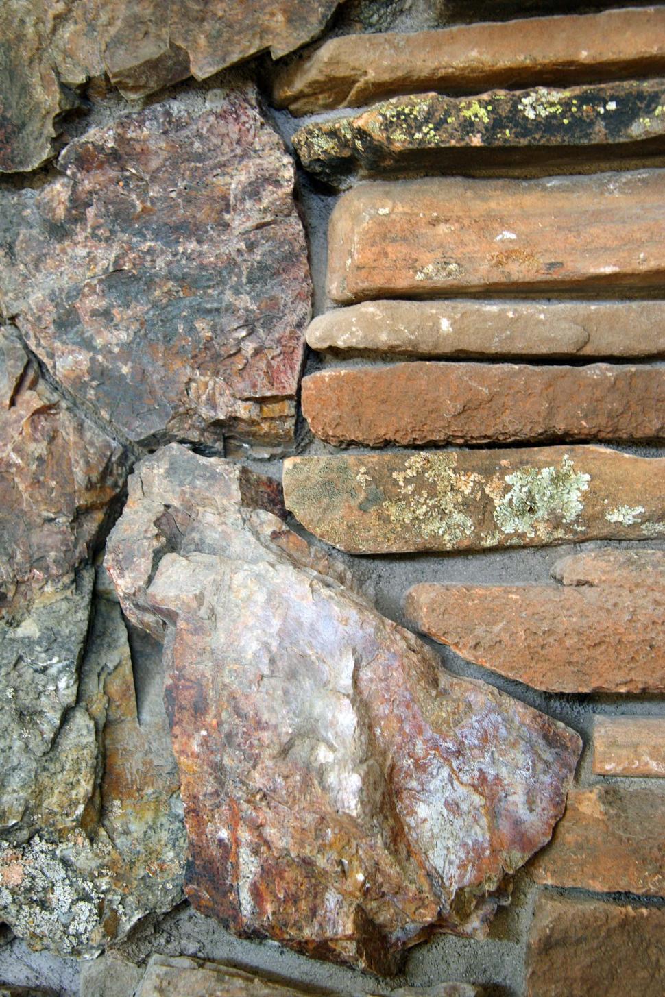 Download Free Stock Photo of Stones Set in Concrete