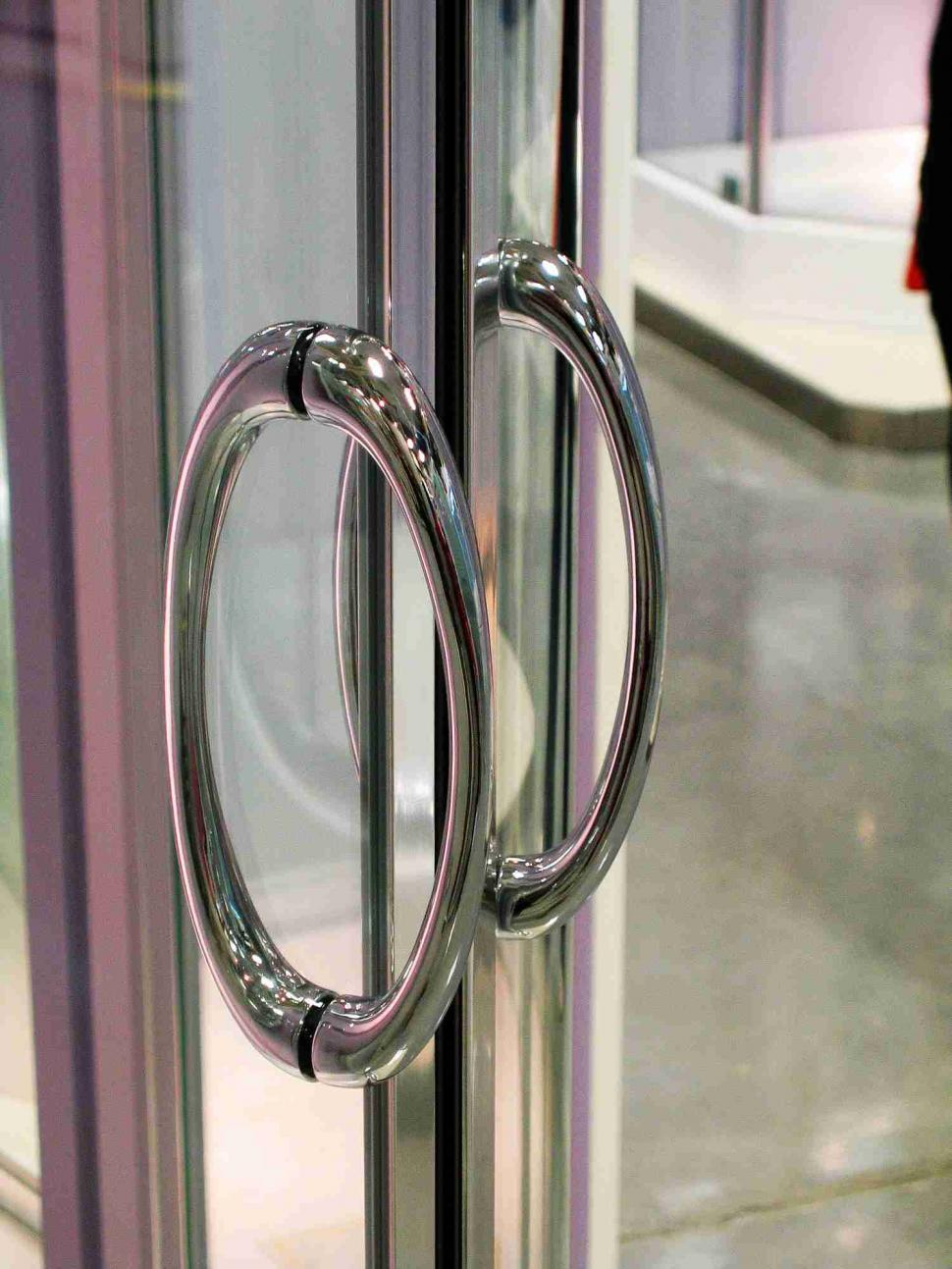 Download Free Stock HD Photo of Handle of showcase door Online
