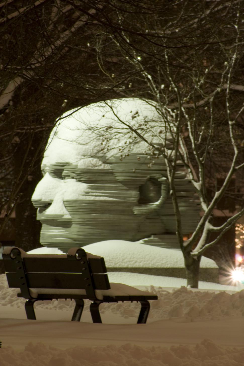 Download Free Stock HD Photo of Statue of Arthur Fieldler Online