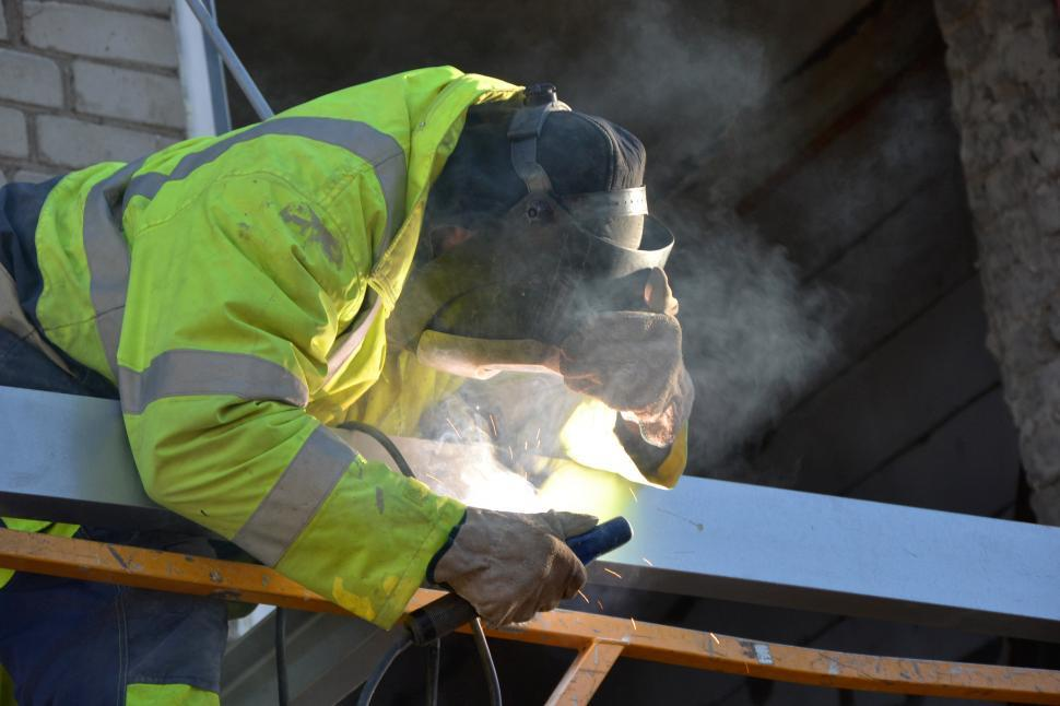 Download Free Stock Photo of Welding at work