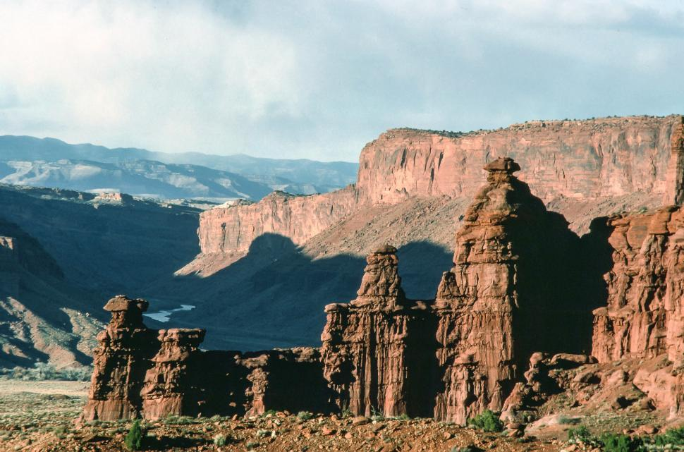 Download Free Stock HD Photo of Fisher Towers Online