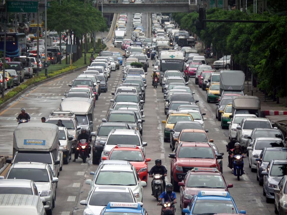 Download Free Stock HD Photo of Bangkok traffic jam  Online