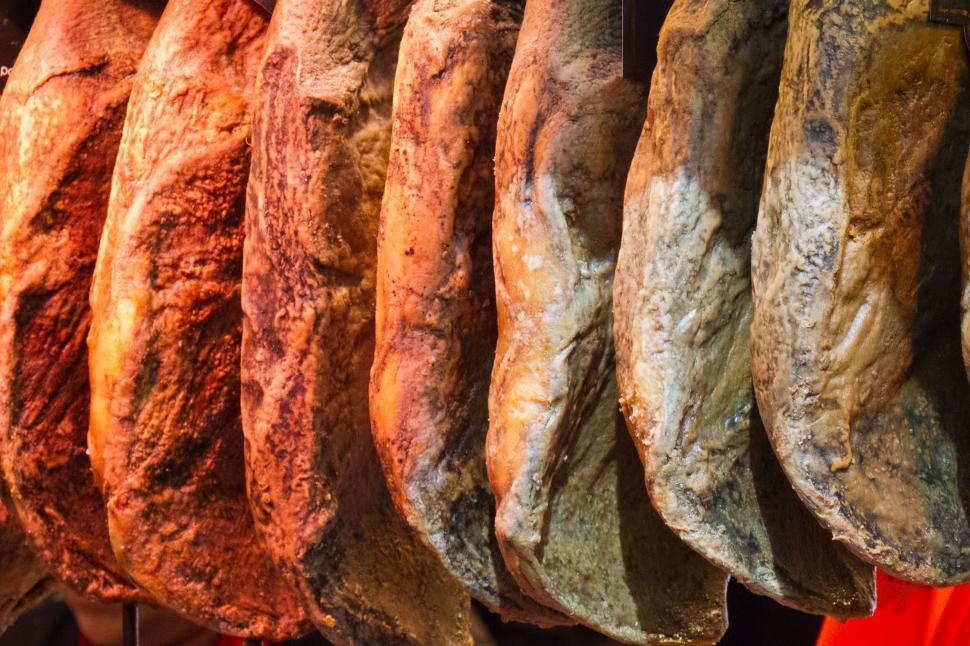 Download Free Stock Photo of Spanish ham
