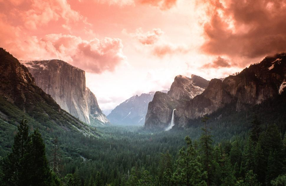 Download Free Stock Photo of Yosemite Valley - Filter