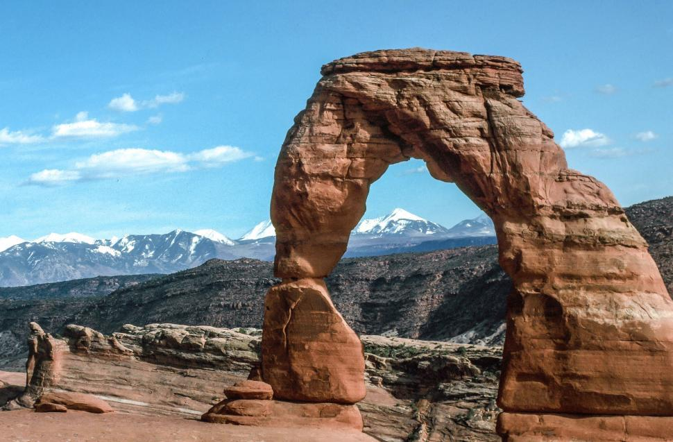 Download Free Stock Photo of Delicate Arch