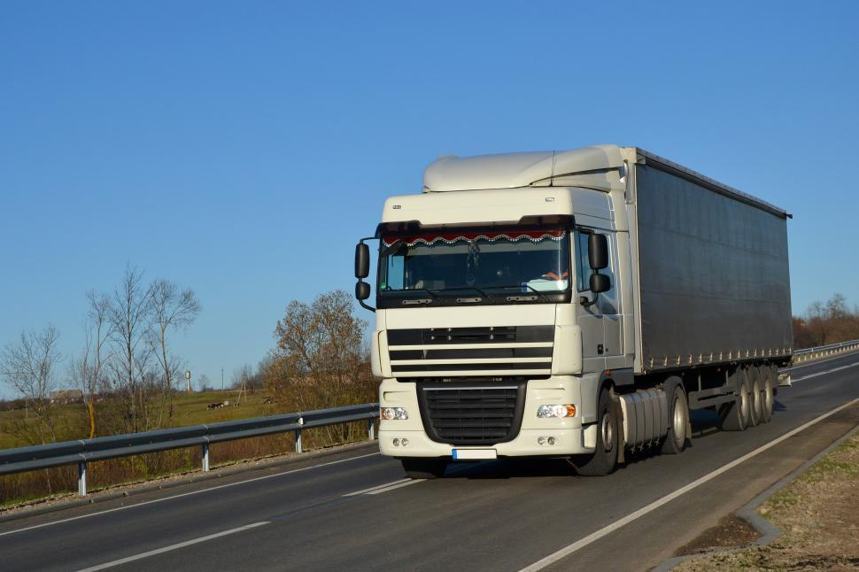 Download Free Stock HD Photo of DAF XF lorry  Online