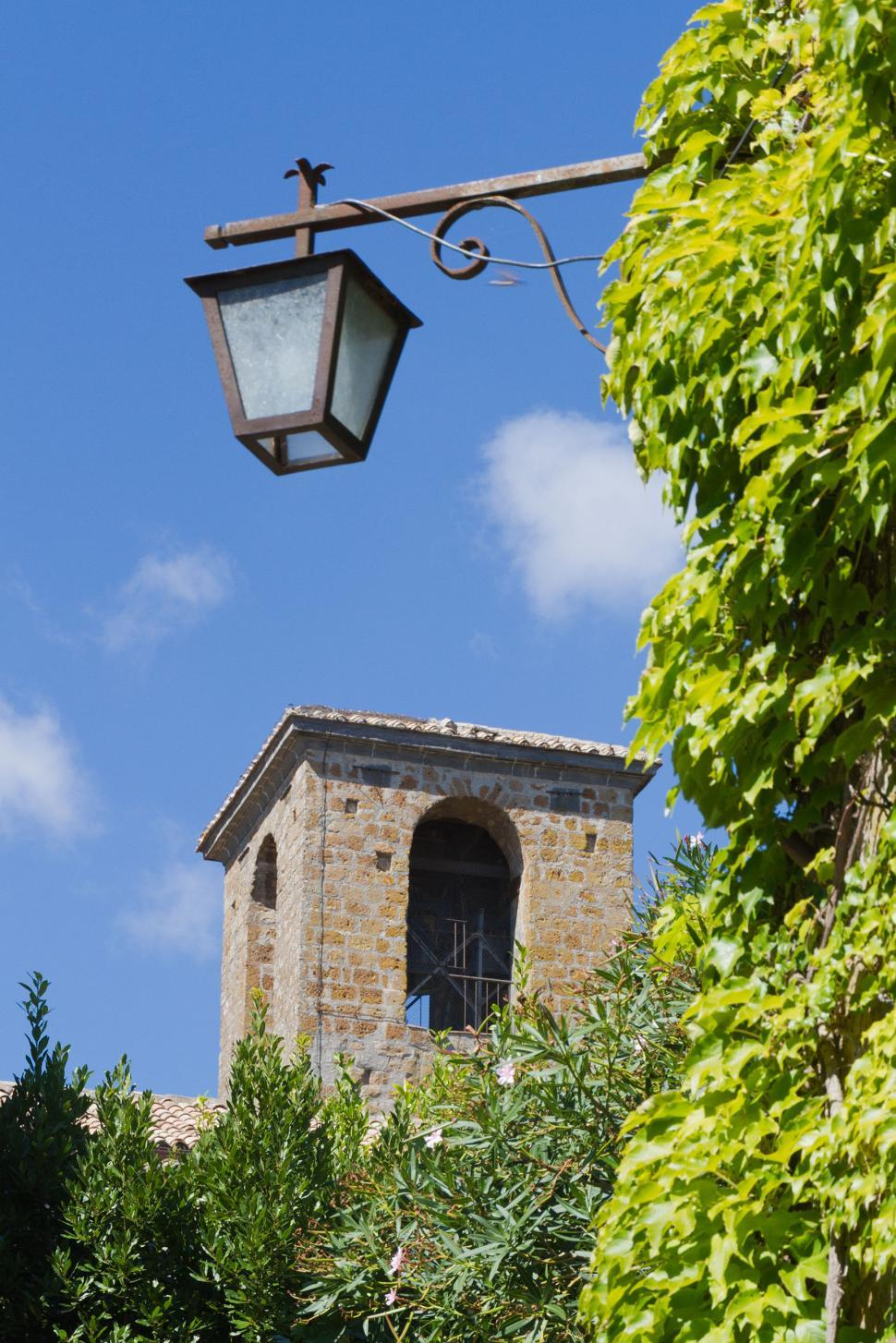 Download Free Stock Photo of Street lamp in old city