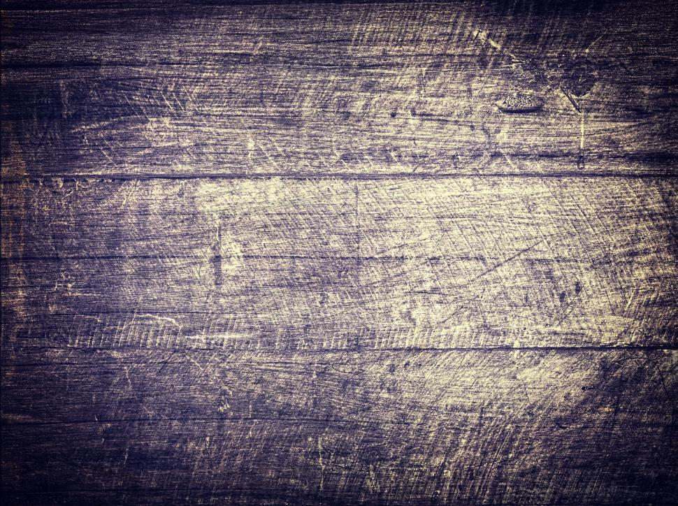 Download Free Stock Photo of Old scratched wood background