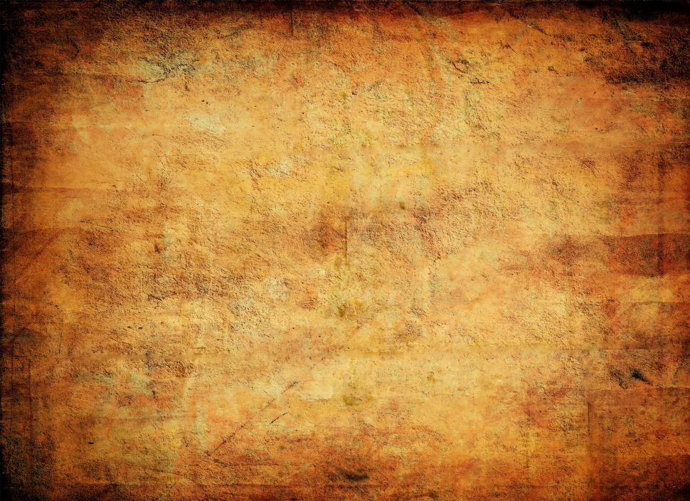 Download Free Stock Photo of Old tainted parchment - Grunge background