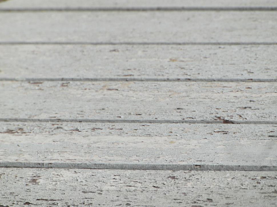 Download Free Stock Photo of White Painted Wood Texture
