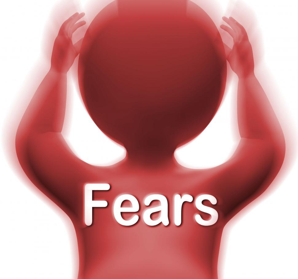Download Free Stock HD Photo of Fears Man Means Worries Anxieties And Concerns Online