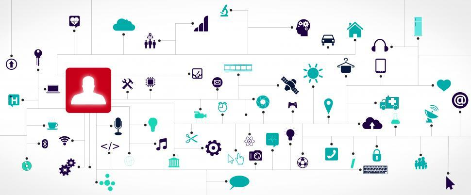 Download Free Stock Photo of Internet of Things concept