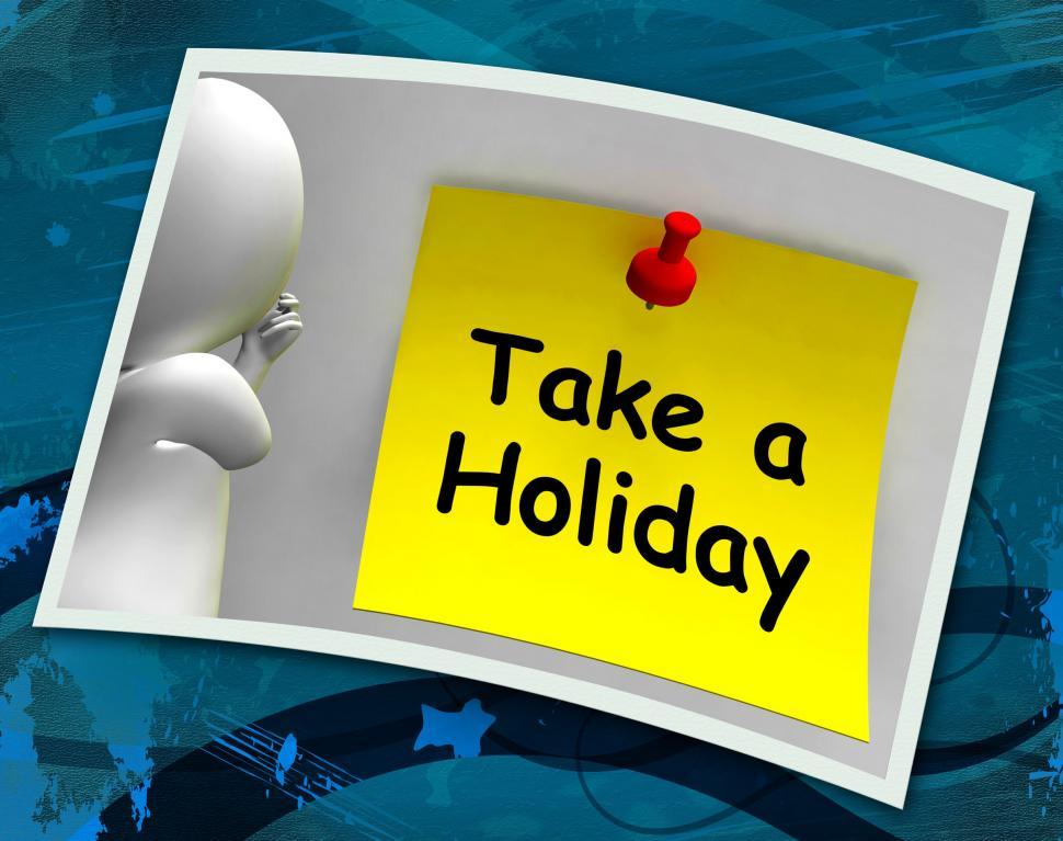 Download Free Stock Photo of Take A Holiday Photo Means Time For Vacation