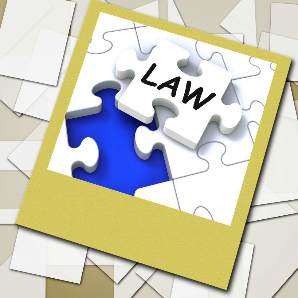 Download Free Stock Photo of Law Photo Shows Legal Information And Legislation On Internet
