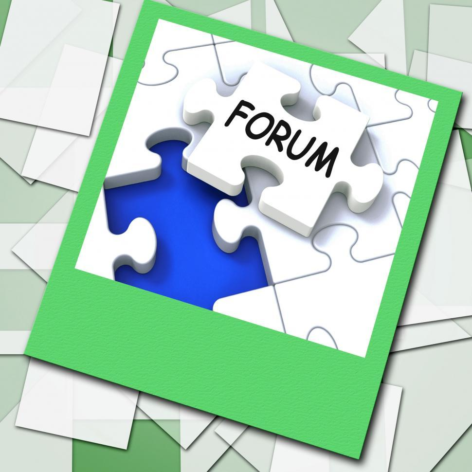 Download Free Stock HD Photo of Forum Photo Means Online Networks And Chat Online
