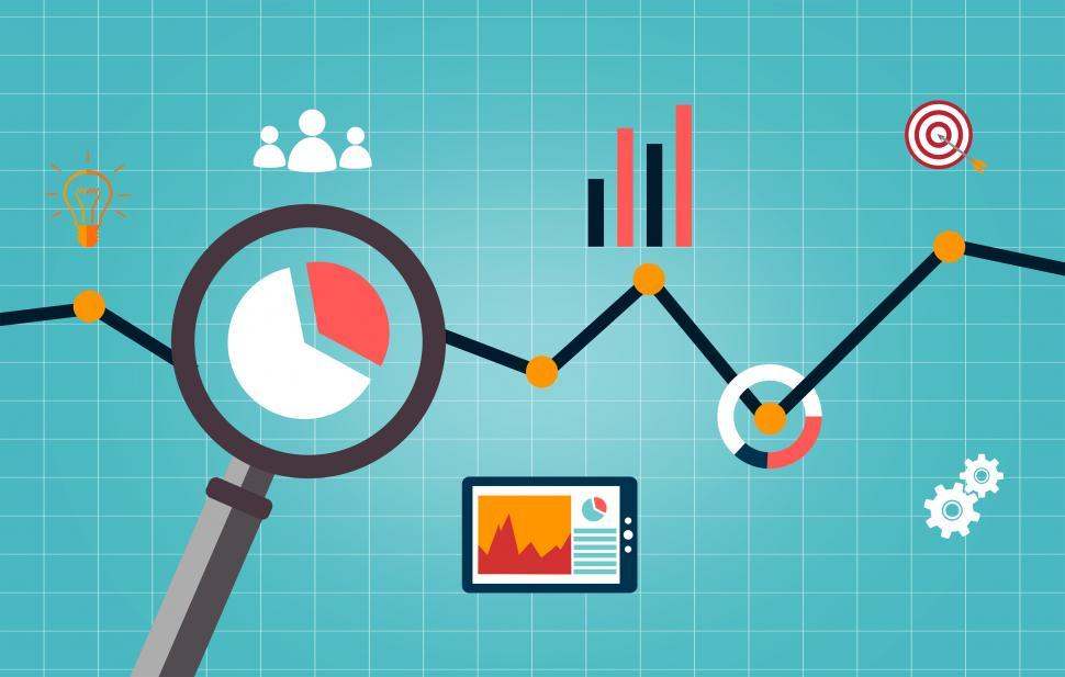Download Free Stock Photo of Web analytics concept