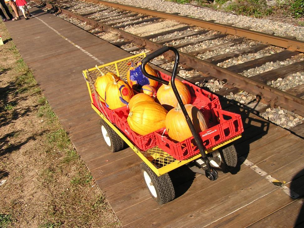 Download Free Stock HD Photo of Pumpkin Cart Online