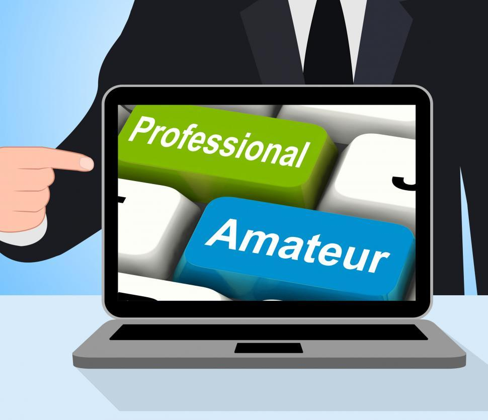 Download Free Stock Photo of Professional Amateur Keys Displays Beginner And Experienced