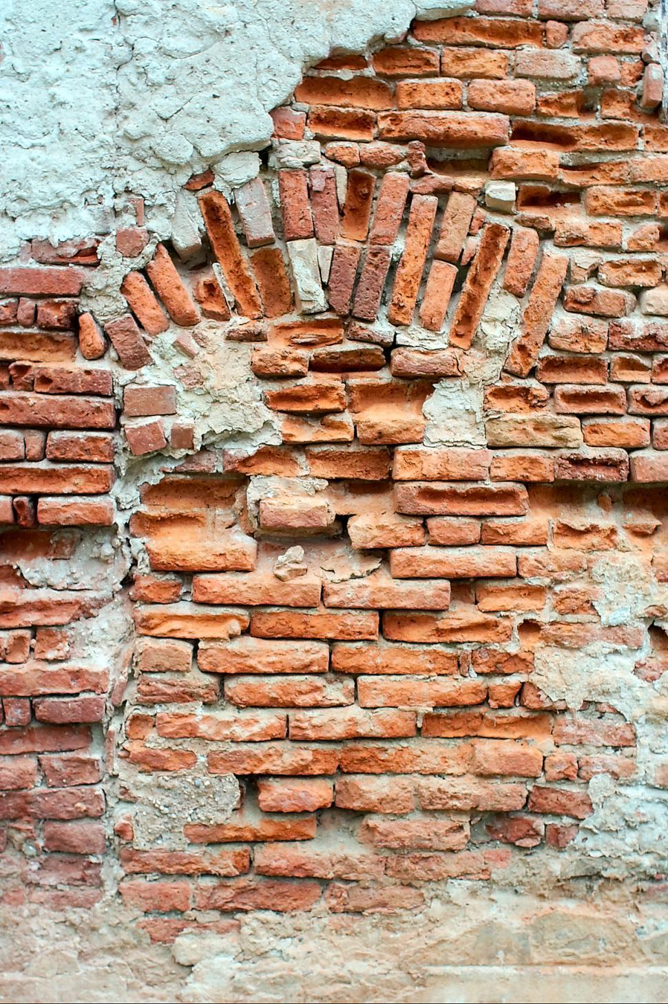 Download Free Stock Photo of Closed, bricked up, window