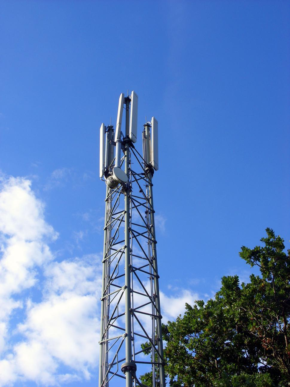 Download Free Stock HD Photo of Mobile phone mast Online
