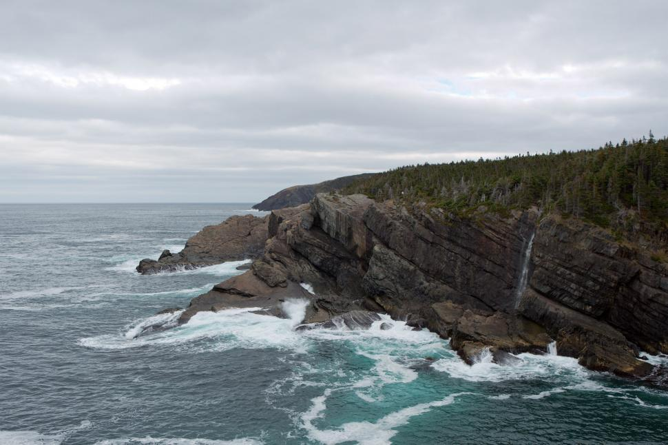 Download Free Stock Photo of Newfoundland Coastline