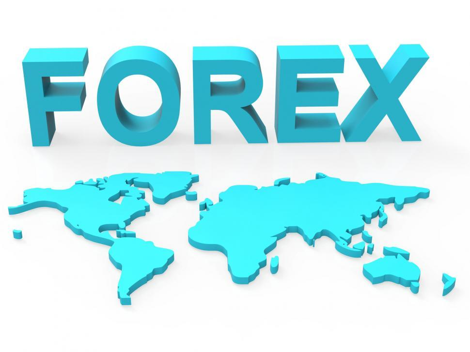 Download Free Stock Photo of World Forex Indicates Worldwide Trading And Currency