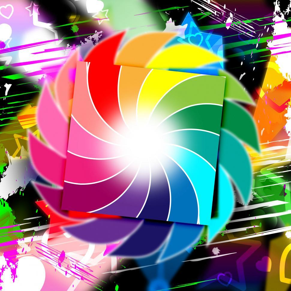 Download Free Stock HD Photo of Background Spiral Indicates Whirl Spectrum And Colour Online