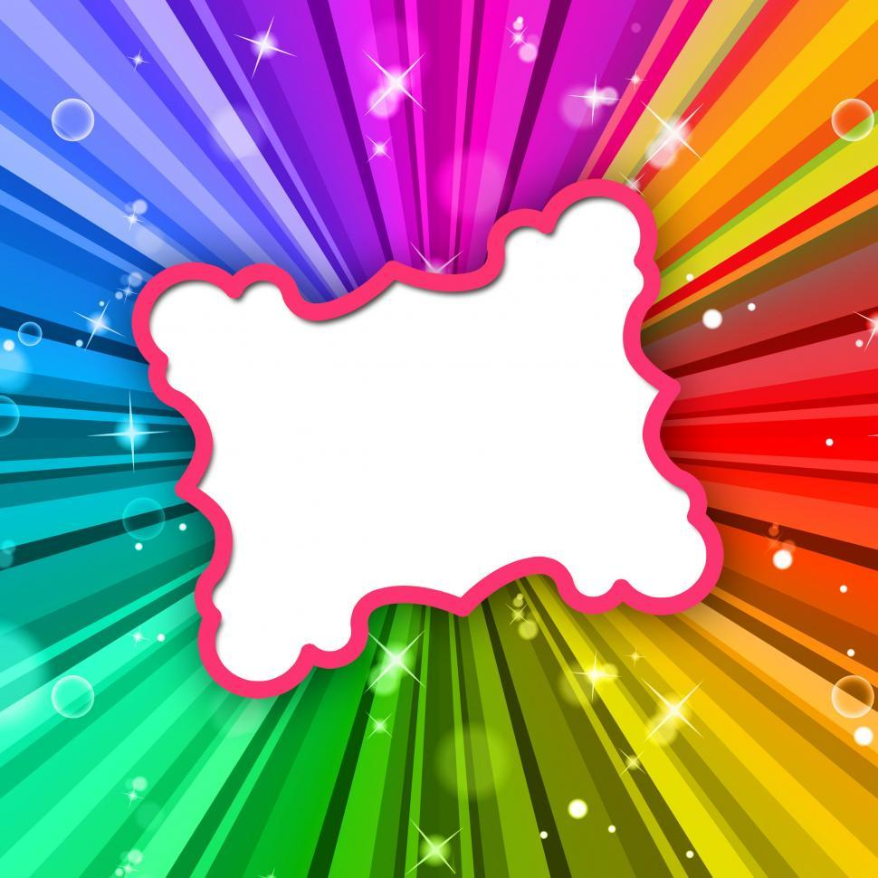 Download Free Stock HD Photo of Rays Color Represents Frame Colour And Radiate Online