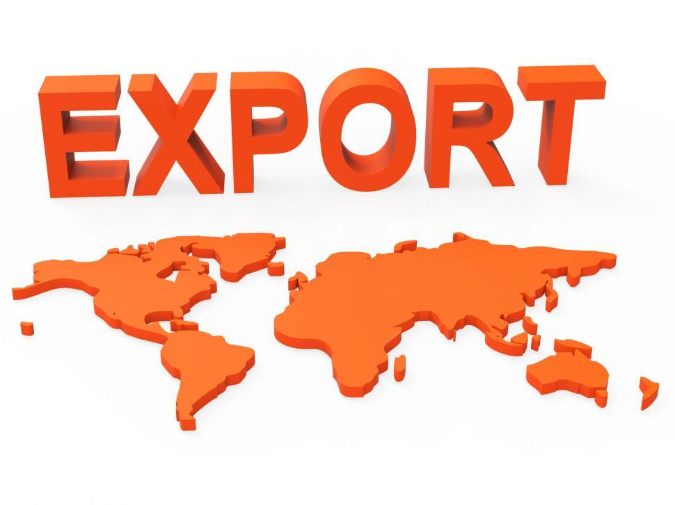Download Free Stock HD Photo of World Export Shows Trading Exporting And Exportation Online