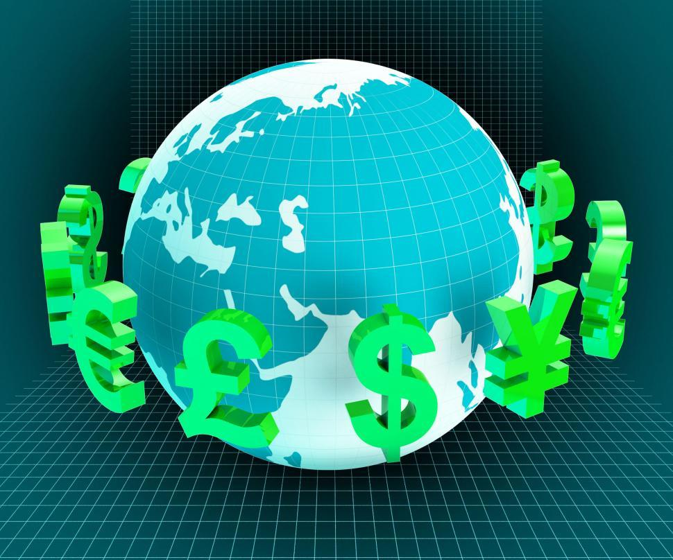 Download Free Stock HD Photo of Dollars Forex Indicates Foreign Exchange And European Online