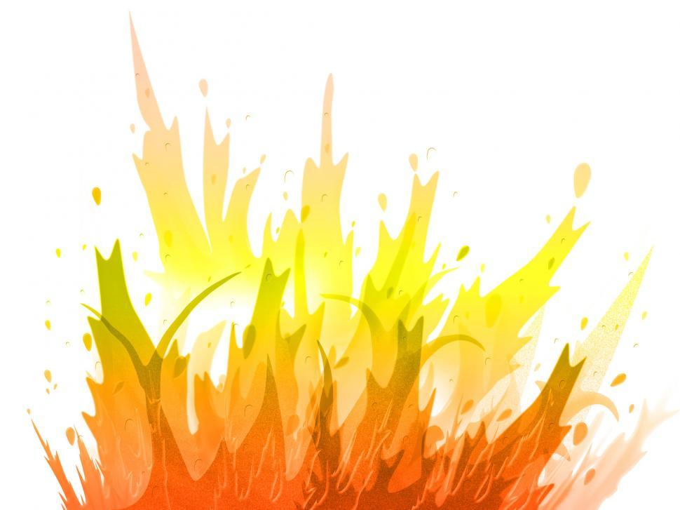 Download Free Stock Photo of Fire Background Represents Inferno Design And Raging